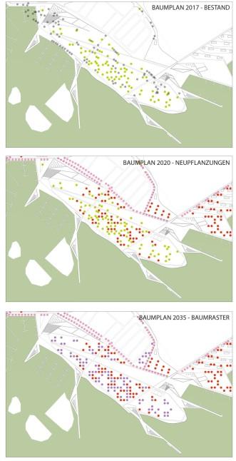 Baumpflanzungen geplant