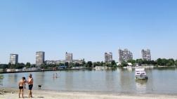 Baden in der Donau mit Kulisse