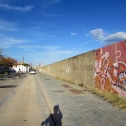 Die Mauer in Nazaret